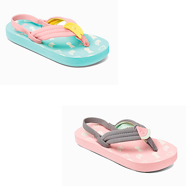 ae521133a Details about Reef Kids Sandals - Little Ahi Fruits - Banana
