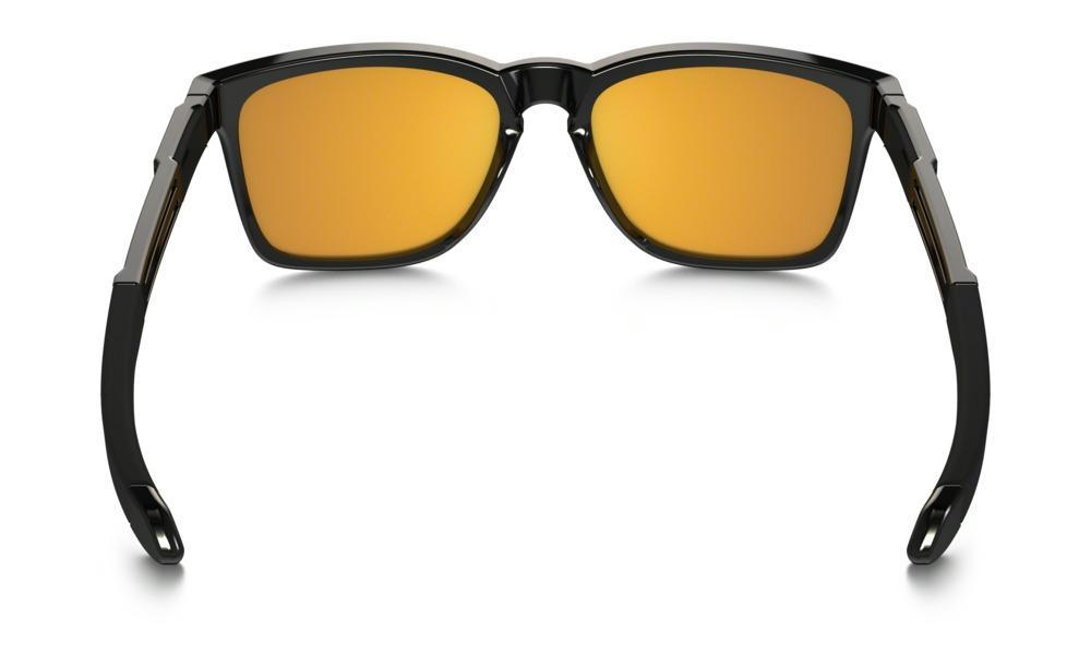 Oakley Catalyst Sunglasses in Polished Black with 24k Iridium Lens  Thumbnail 3 1f85ca46d4