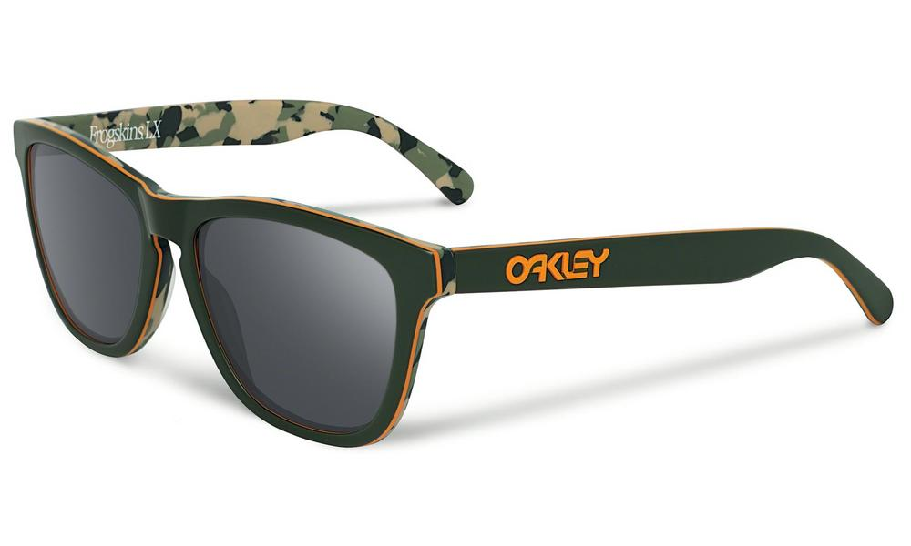 Oakley Frogskins LX Sunglasses in Koston Camo Green with Black Iridium Lens