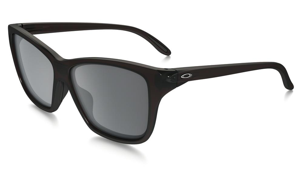Oakley Hold On Sunglasses in Frosted Rhone with Black Iridium Lens
