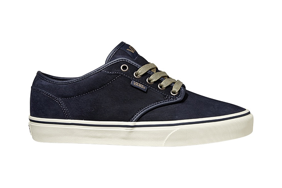 Vans Atwood Deluxe Suede Skate Shoes Mens