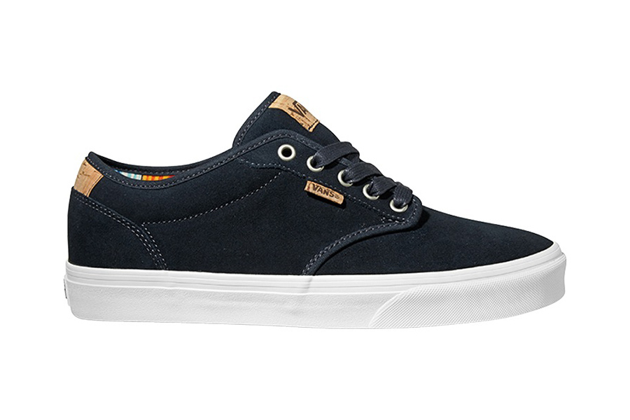 Vans atwood deluxe suede black Cwd5YV56FF