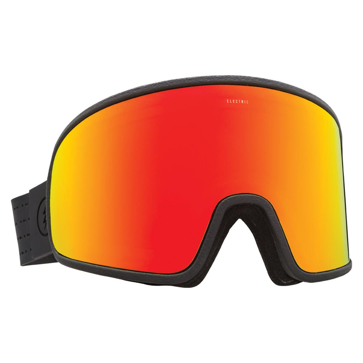 bdad8673454 Electric Electrolite Snowboard Goggles 2017 Matte Black Brose Red Chrome