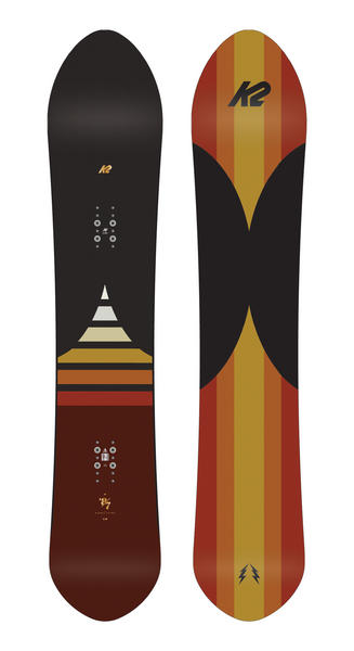 K2 Eighty Seven Snowboard 2017
