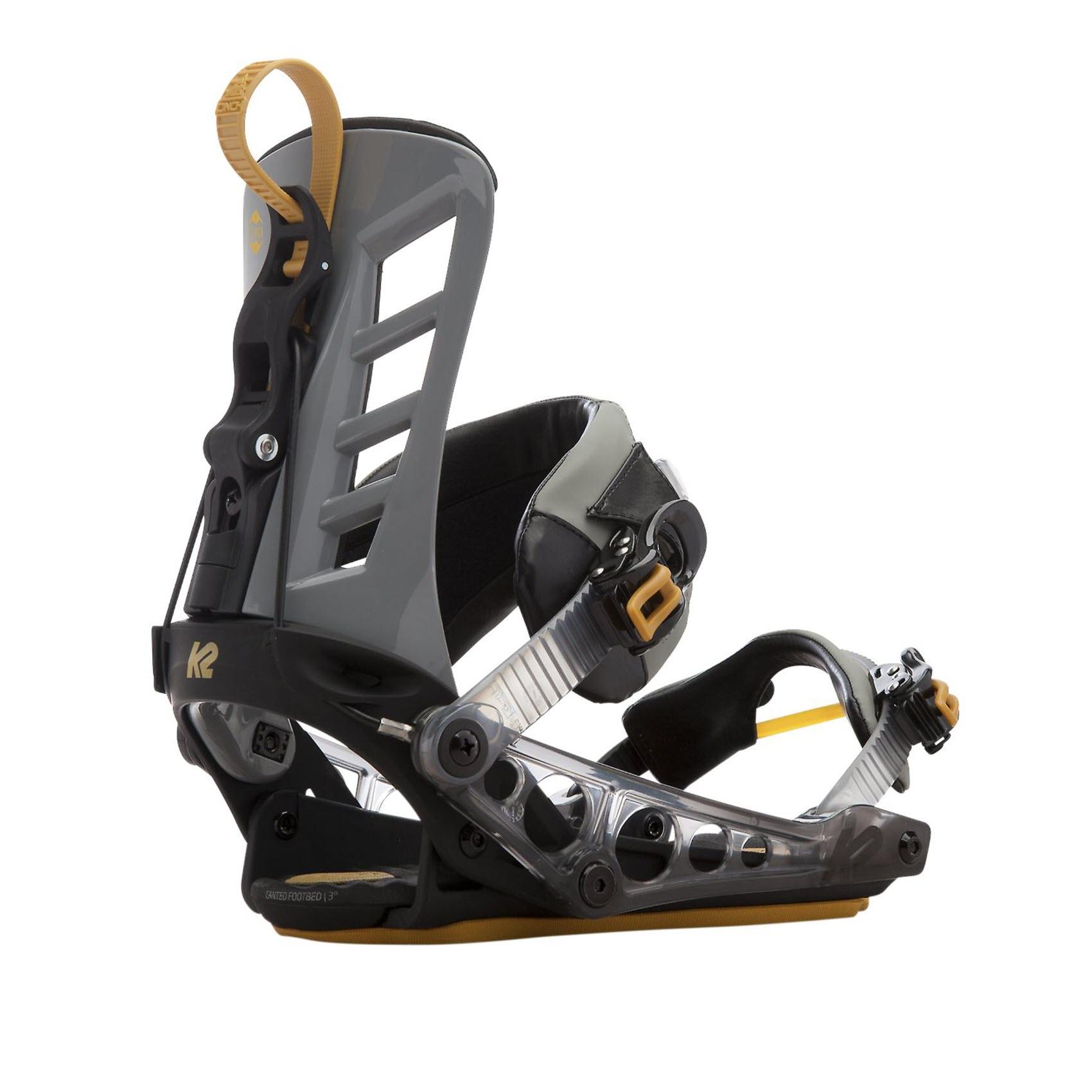 557d02a59706 Details about K2 Snowboard Bindings - Cinch TS - Rear Entry
