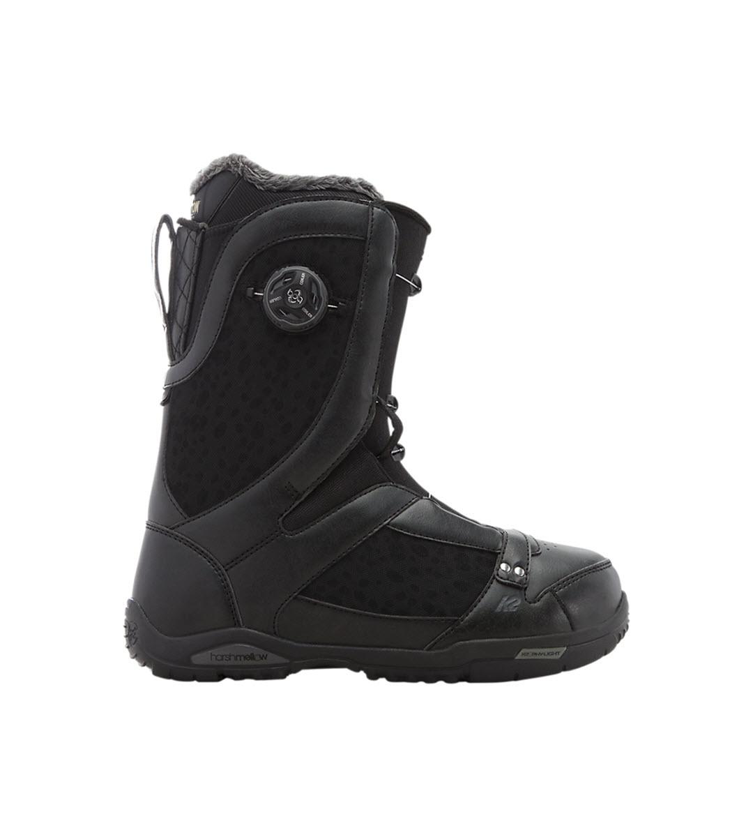 K2 Sapera Womens Snowboard Boots 2017 Black UK 5