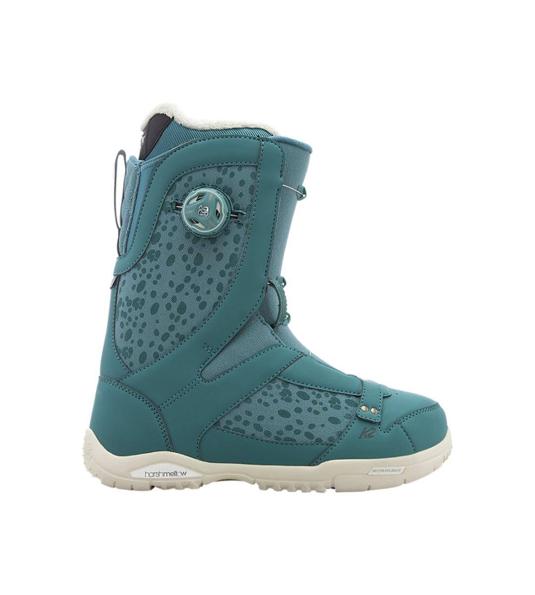 K2 Sapera Womens Snowboard Boots 2017 Rainforest UK 8
