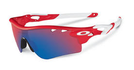 Oakley Radarlock Path Sunglasses in Infrared with Red Iridium, VR28 Lenses