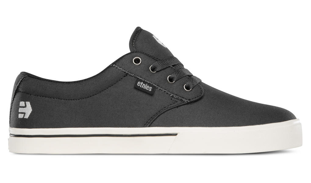 Etnies Jameson 2 ECO Dark Skate Shoes in Grey-White