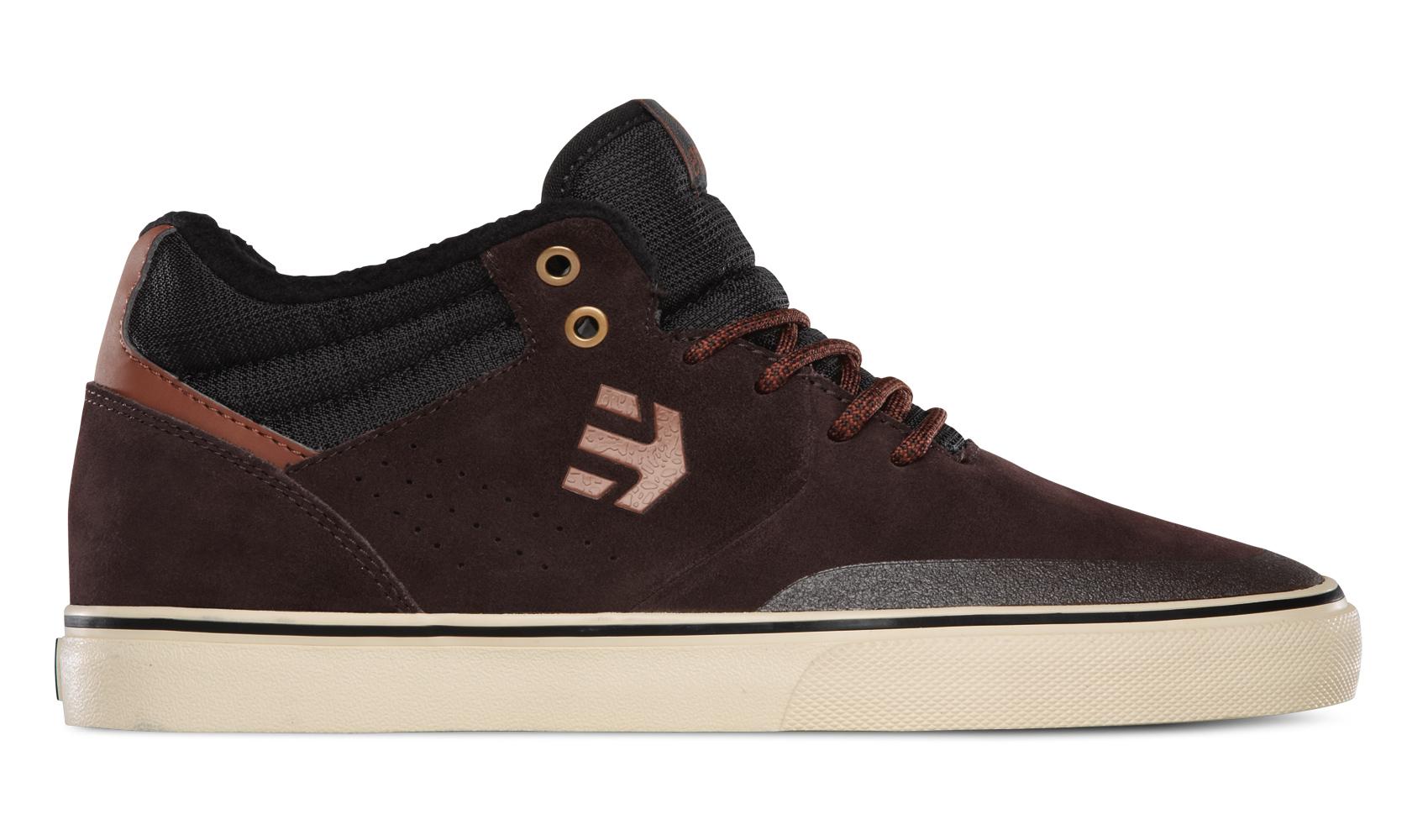 Etnies Dark Brown Fader Mt Shoe