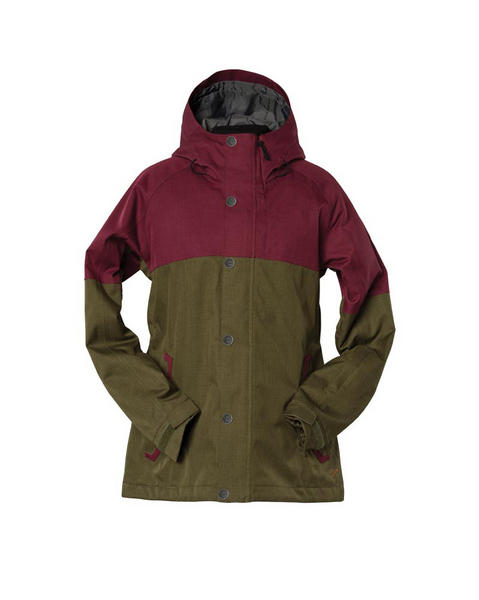 Bonfire Gold Collection Limmy Womens Snowboard Jacket 2017