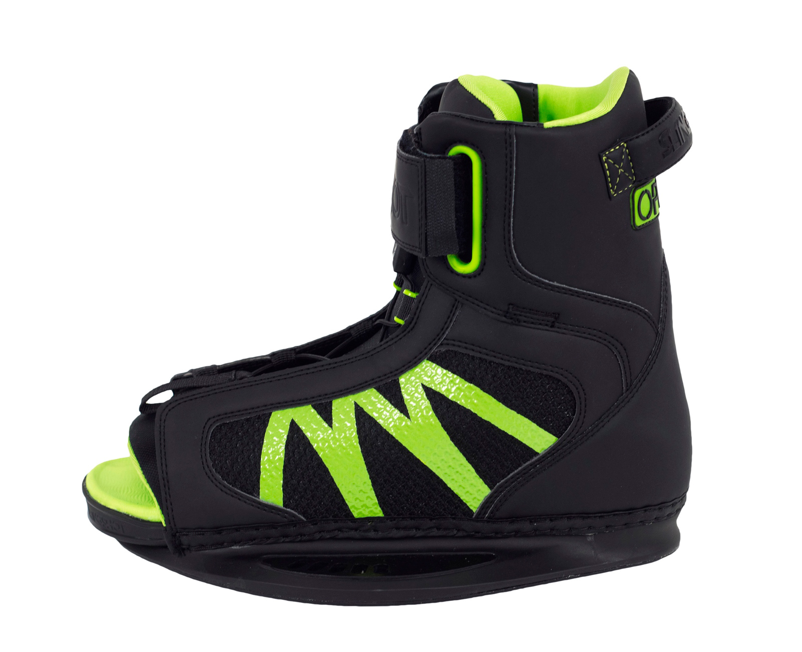 Details about Slingshot Wakeboarding Boots - Option 2017 - Wake Bindings,  Open Toe, Beginner