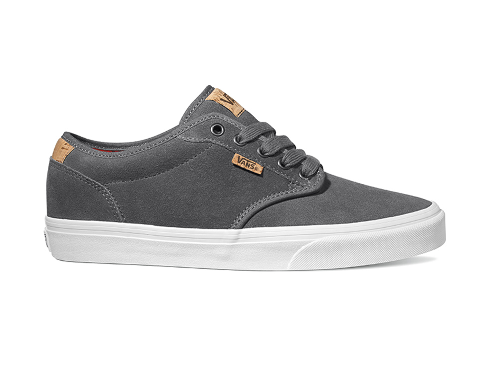 Vans Mens Shoes - Atwood Deluxe - Trainers Skate Footwear Tweed Twill Suede