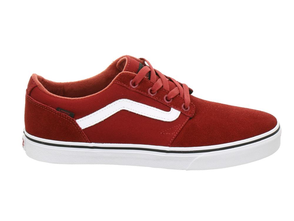 b2078da3be Vans Chapman Stripe Mens Skate Shoes Trainers (Varsity)