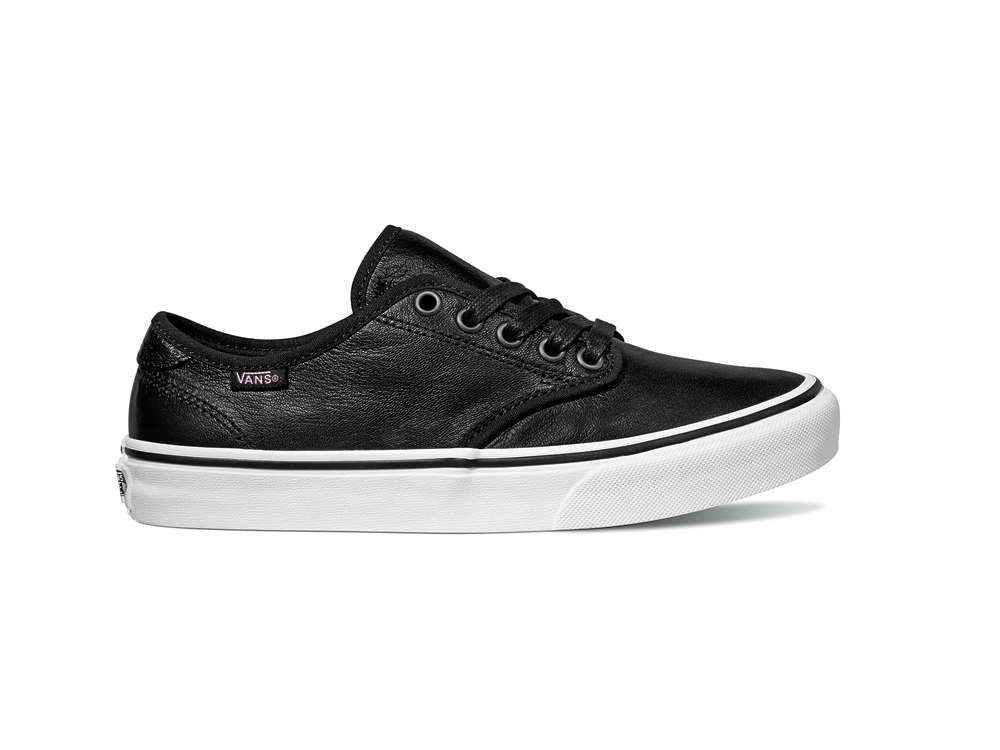 Sentinel Vans Womens Skate Shoes - Camden DX - (Leather) Black 77a6a3d1fa06