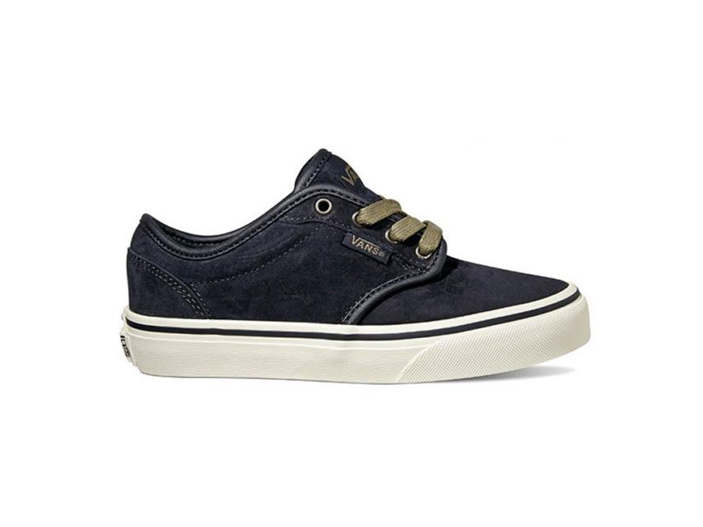 6f2d4ed490 Vans Youth Atwood Shoes (MTE) Blue Graphite Marshmallow