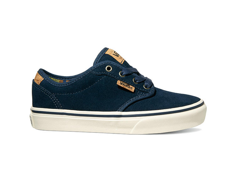 Van Youth Atwood Deluxe Shoes (Suede) Blue Blanket
