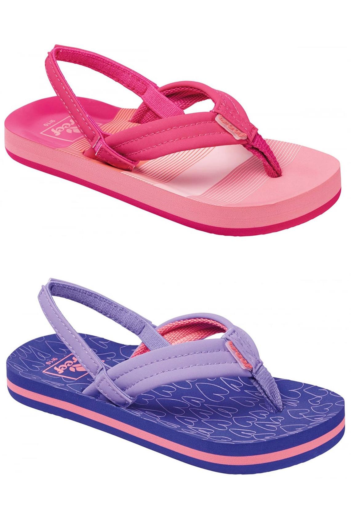 407f62cb0911 Sentinel Reef Kids Sandals - Little Ahi - Purple Hearts