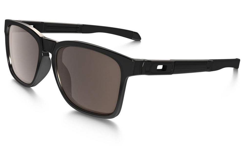 Oakley Catalyst Sunglasses Black Ink with Warm Grey Lens