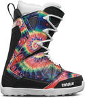 ThirtyTwo 32 Womens Lashed Lace Snowboard Boots Tie Dye 2017 Sample UK 4.5