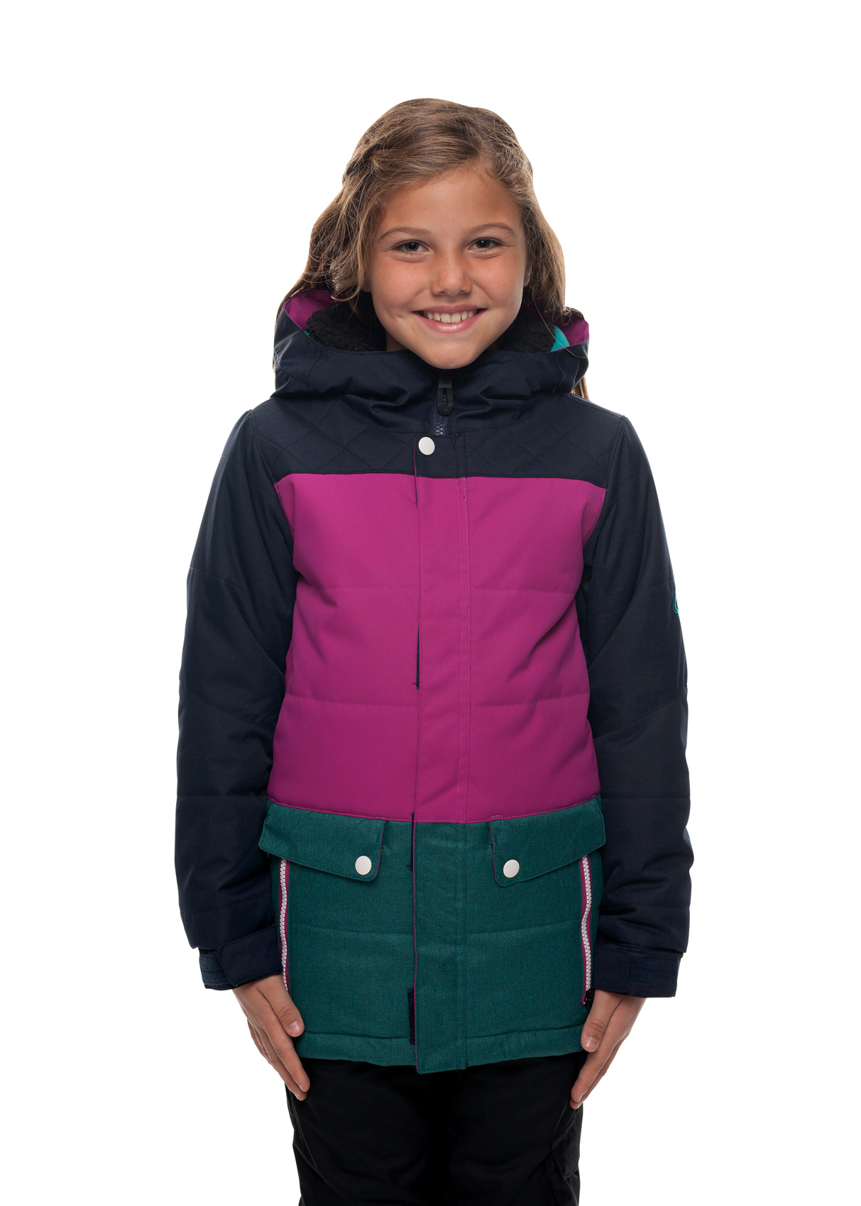bd4d80eda 686 Girls Lily Insulated Jacket 2018