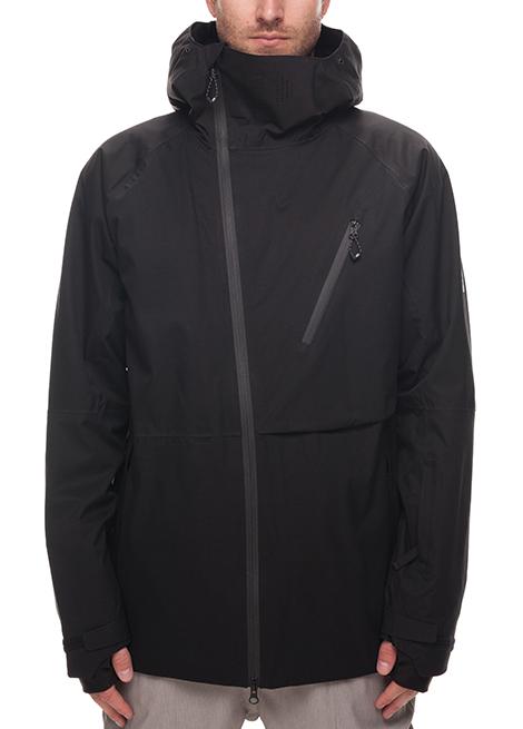 ffffacb739f7 686 GLCR Hydra Thermagraph Jacket - Snowboard Ski - Black Medium ...