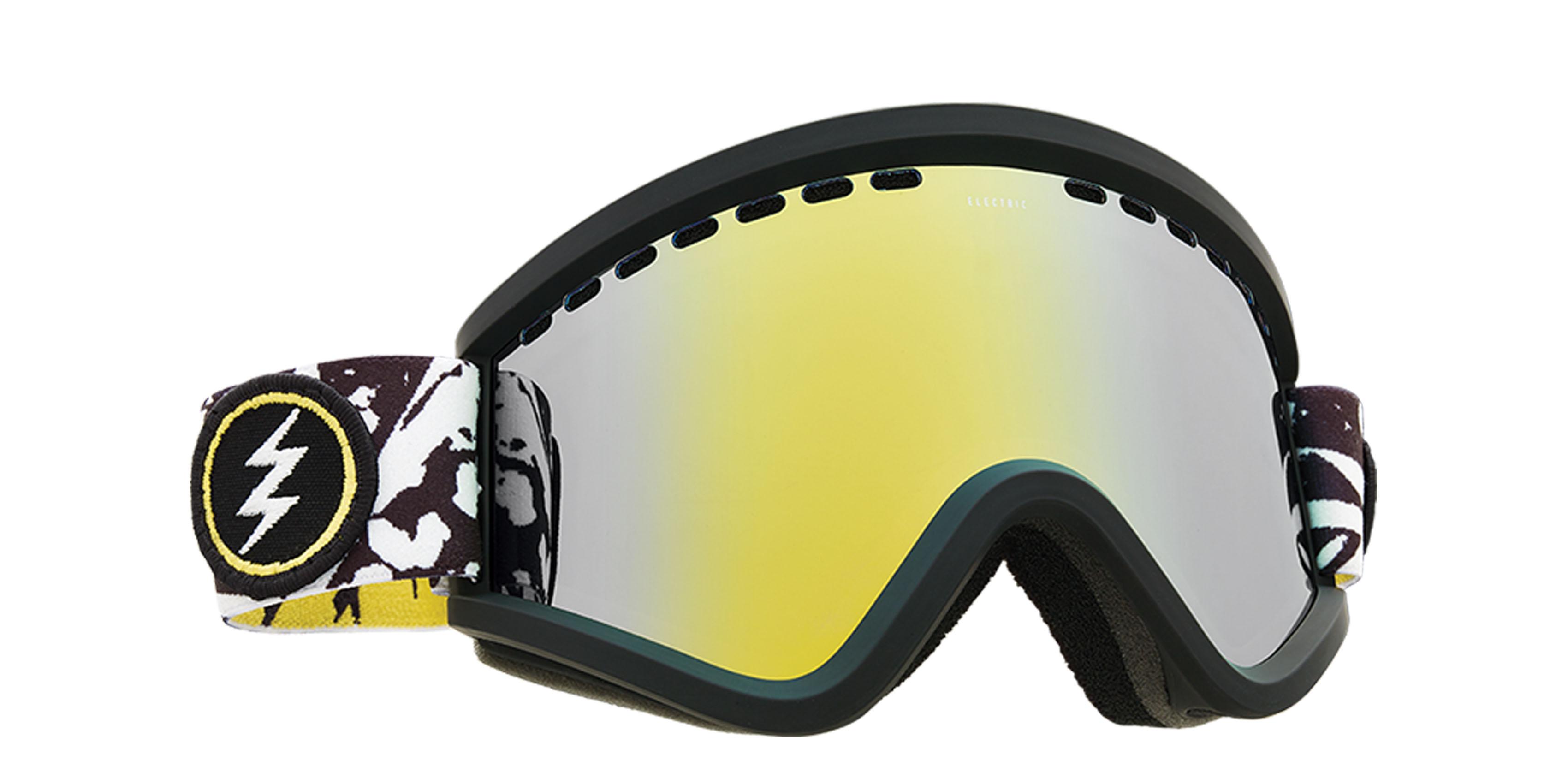 affb7c01979 Electric EGV Snowboard Goggles 2018 - Bones w Brose Gold Chrome + Bonus  Choice Lens