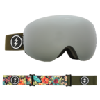 Electric EG3.5 Snowboard Goggles 2018 - Dark Tourist w Brose Silver Chrome + Bonus Choice Lens Thumbnail 3