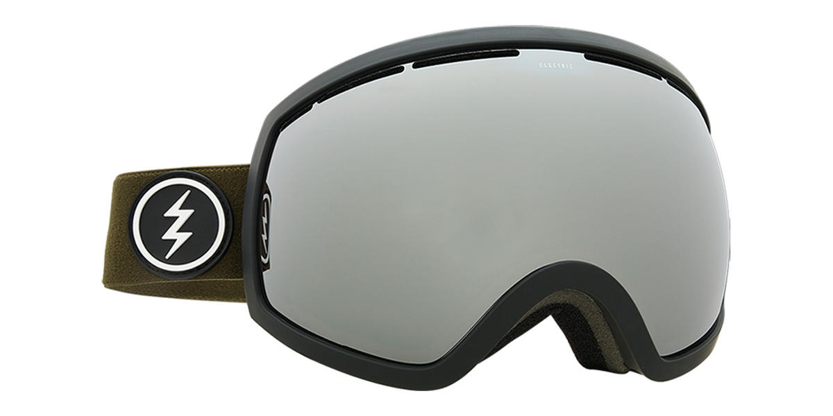 Electric EG2 Snowboard Goggles 2018 - Dark Tourist w Brose Silver Chrome + Bonus Choice Lens