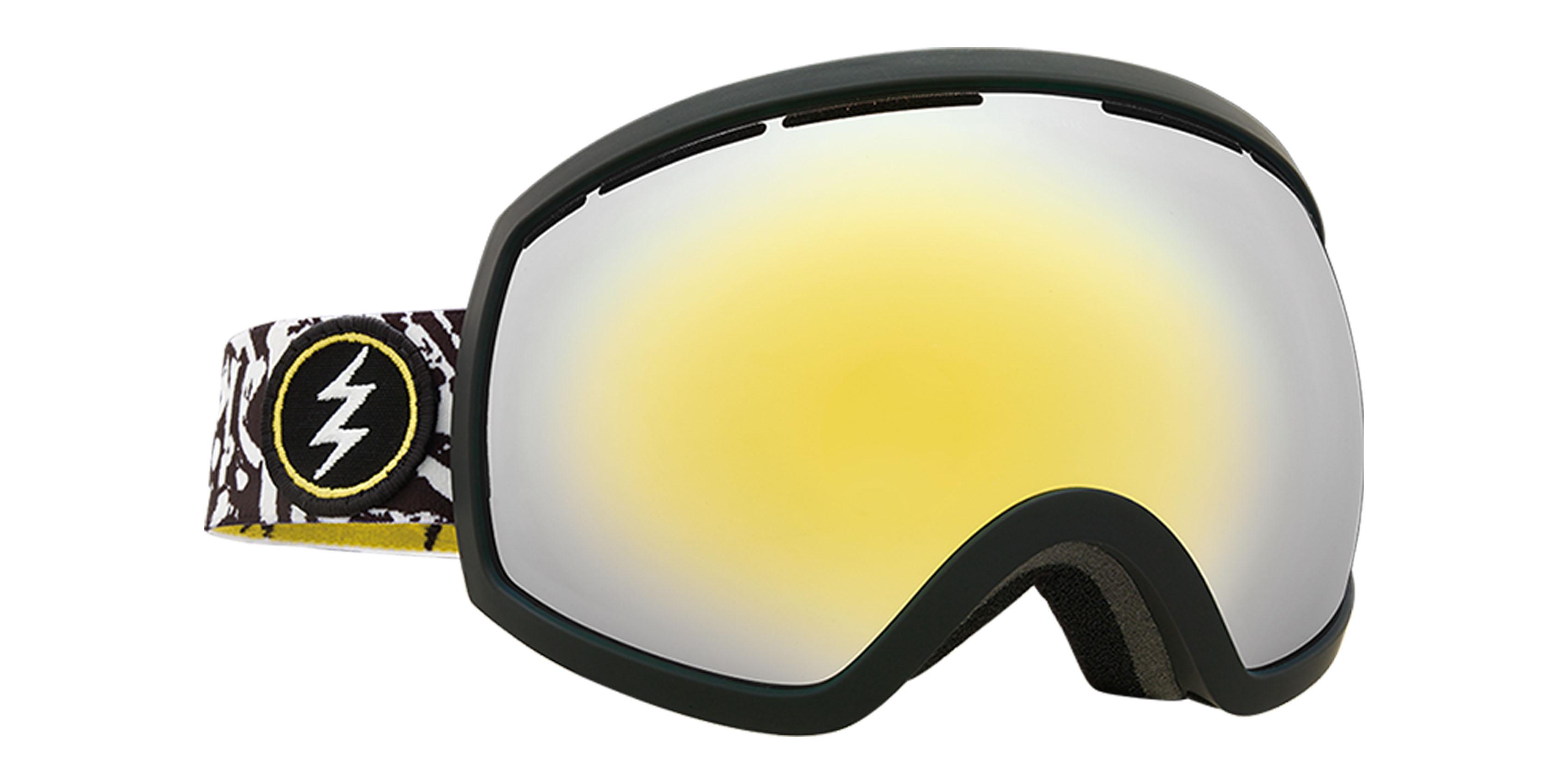 79c22662258 Electric EG2 Snowboard Goggles 2018 - Bones w Brose Gold Chrome + Bonus  Choice Lens