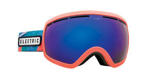 Electric EG2.5 Snowboard Goggles 2018 - Pink Palms w Brose Blue Chrome + Bonus Choice Lens