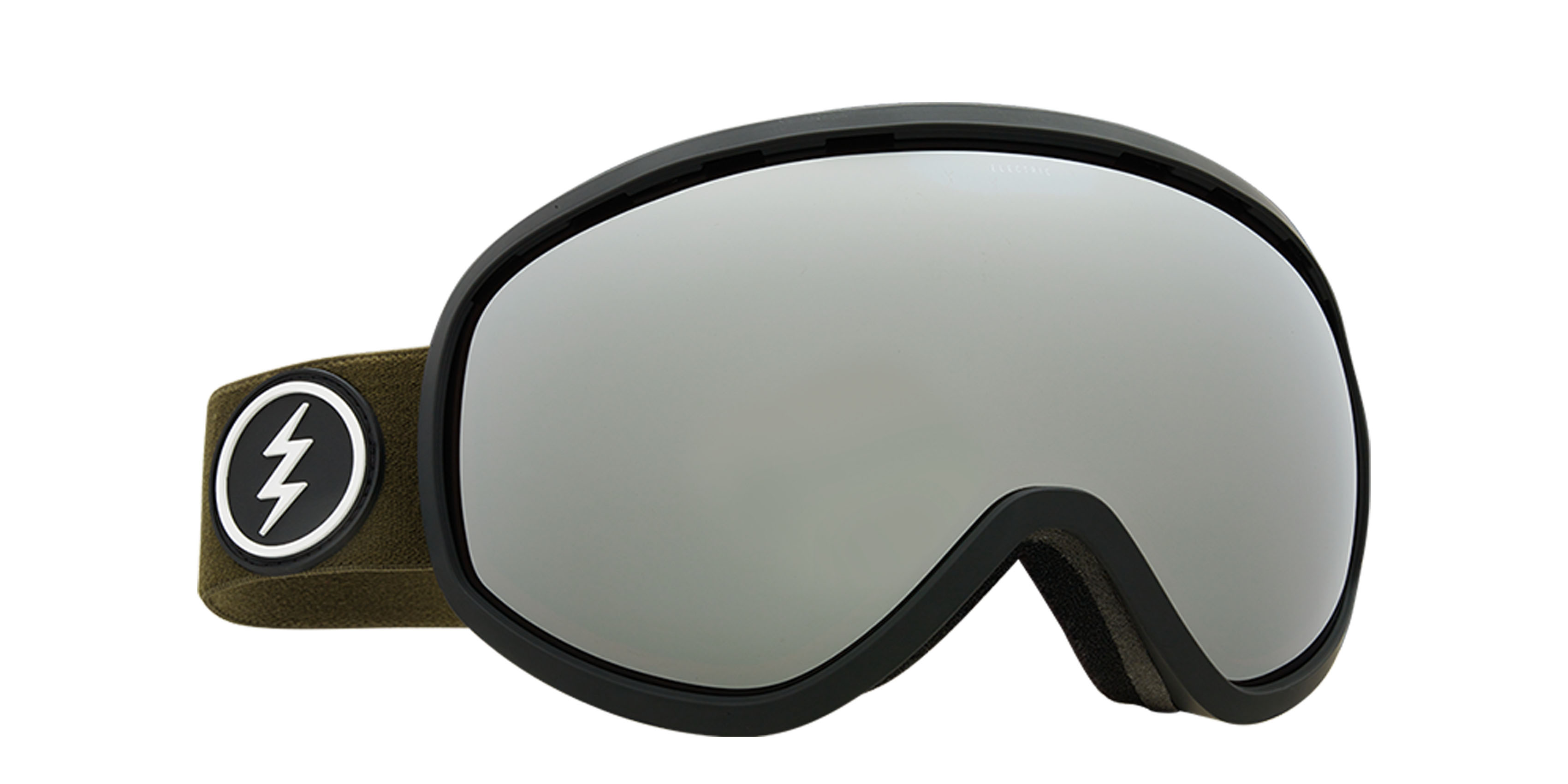 d92417c2e51e Electric Masher Snowboard Goggles 2018 - Dark Tourist w Brose Silver Chrome  + Bonus Choice Lens