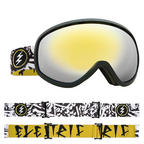 Electric Masher Snowboard Goggles 2018 - Bones w Brose Gold Chrome + Bonus Choice Lens Thumbnail 3