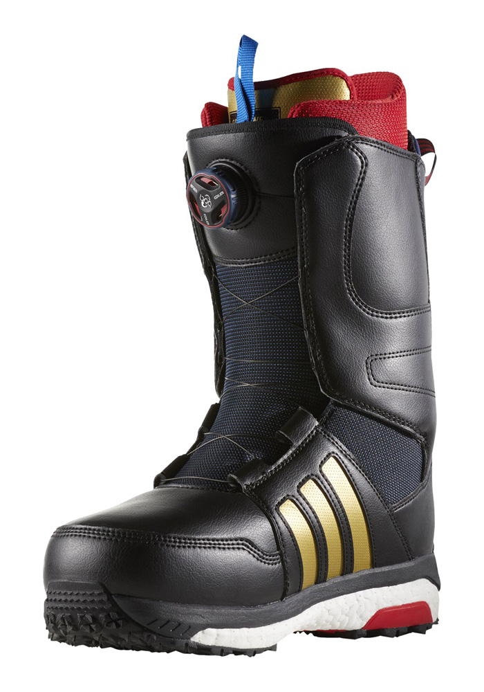 68011d413687 Sentinel Adidas Snowboard Boots - Accera ADV Core Black Scarlet FTWR White  - 2018. Sentinel Thumbnail 4