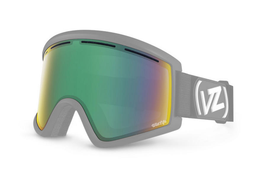 Vonzipper Cleaver Wildlife Chrome Replacement Lens 26% VLT CAT 2