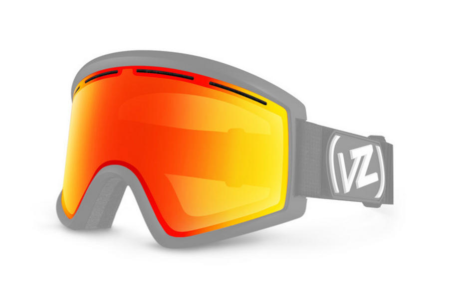 Vonzipper Cleaver Fire Chrome Replacement Lens 24% VLT CAT 2