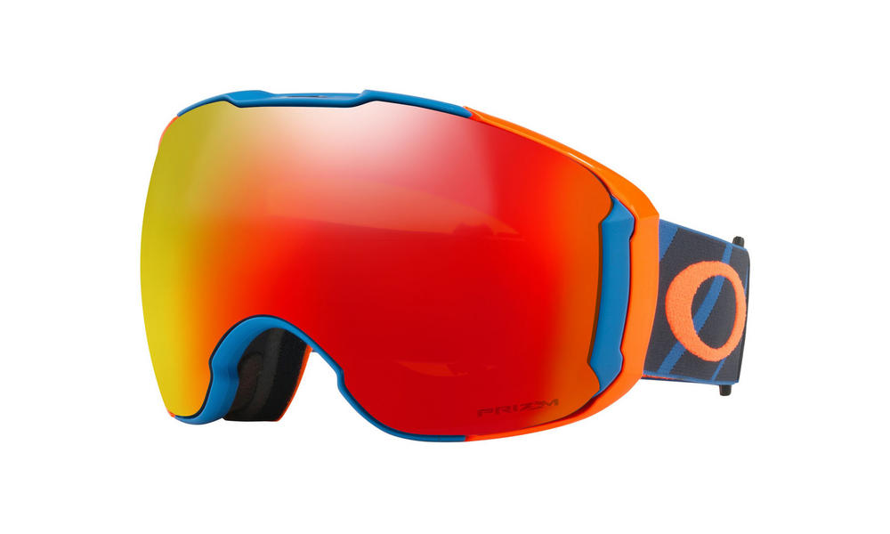 Oakley Airbrake XL Goggles Hazard Bar Blue Prizm Torch Prizm Rose