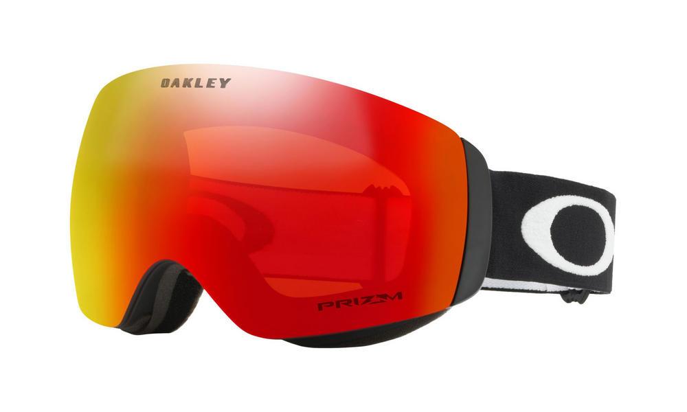Oakley Flight Deck XM Goggles Matte Black Prizm Torch Iridium