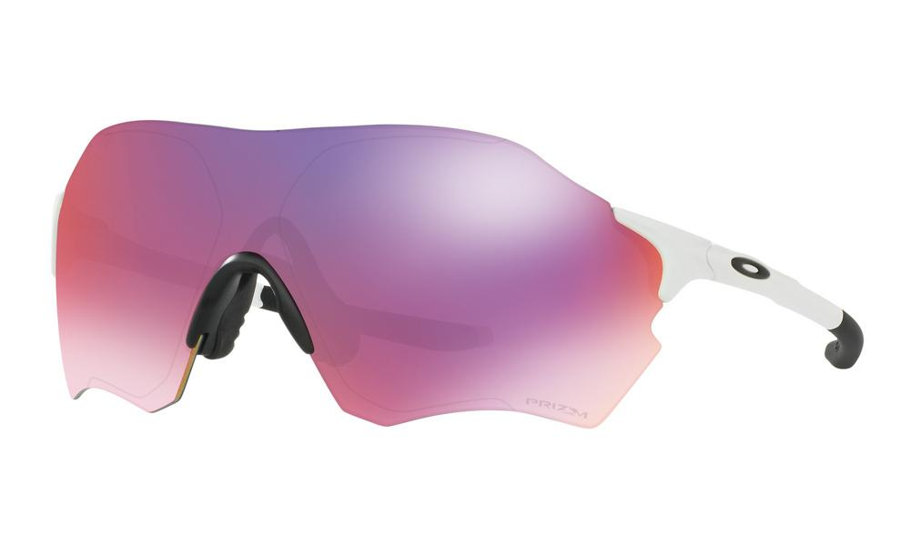 Oakley EVZero Range Sunglasses Matte White with Prizm Road
