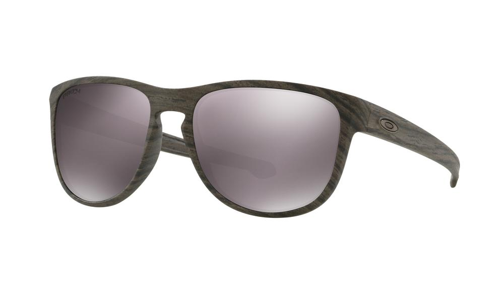 Oakley Sliver R Sunglasses Woodgrain with Prizm Daily Polarized