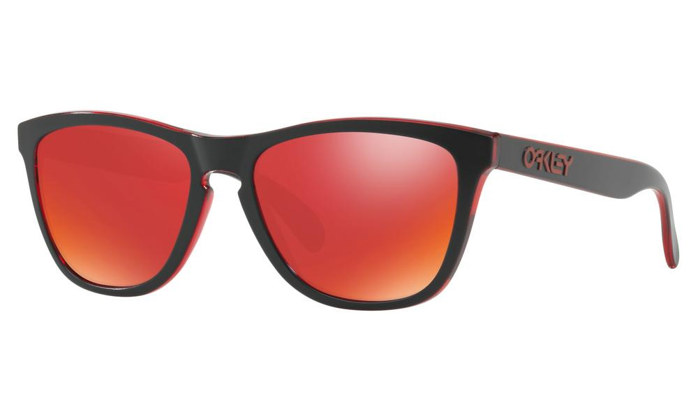 Oakley Frogskins Sunglasses Eclipse Red with Torch Iridum