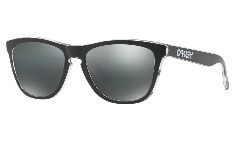Oakley Frogskins Sunglasses Eclipse Clear with Black Iridium