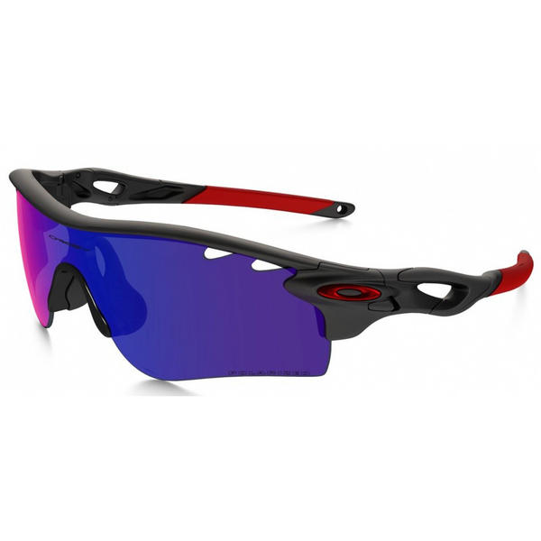 Oakley Radarlock Path Sunglasses Matte Black Ink OO Red Iridium Vented Black Iridium Vented