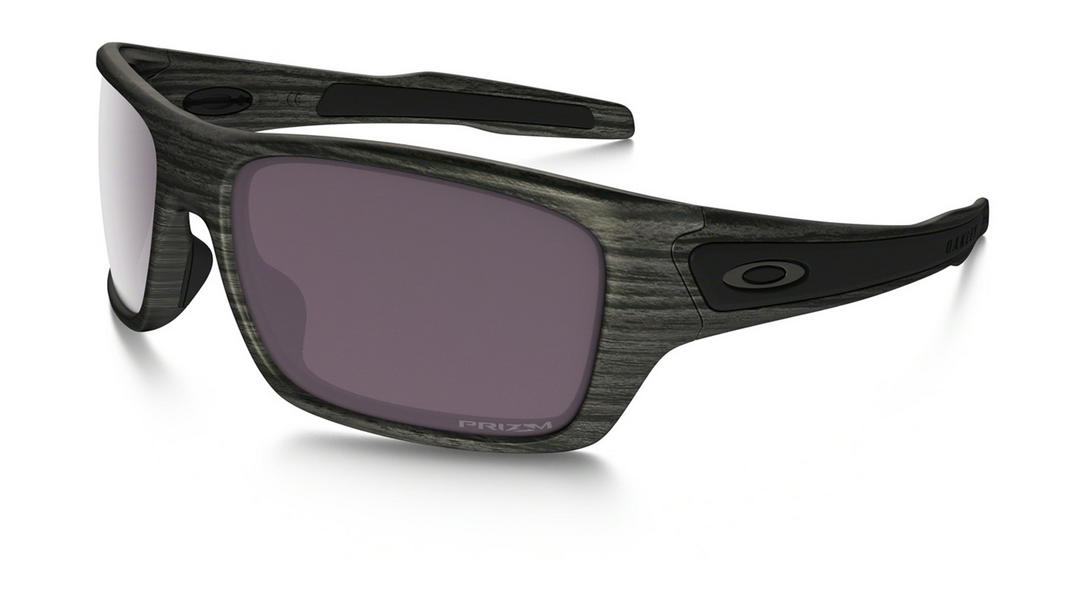 Oakley Turbine Sunglasses Woodgrain with Prizm Daily Polarized