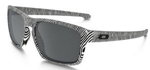 Oakley Sliver Sunglasses Fingerprint White with Black Iridium