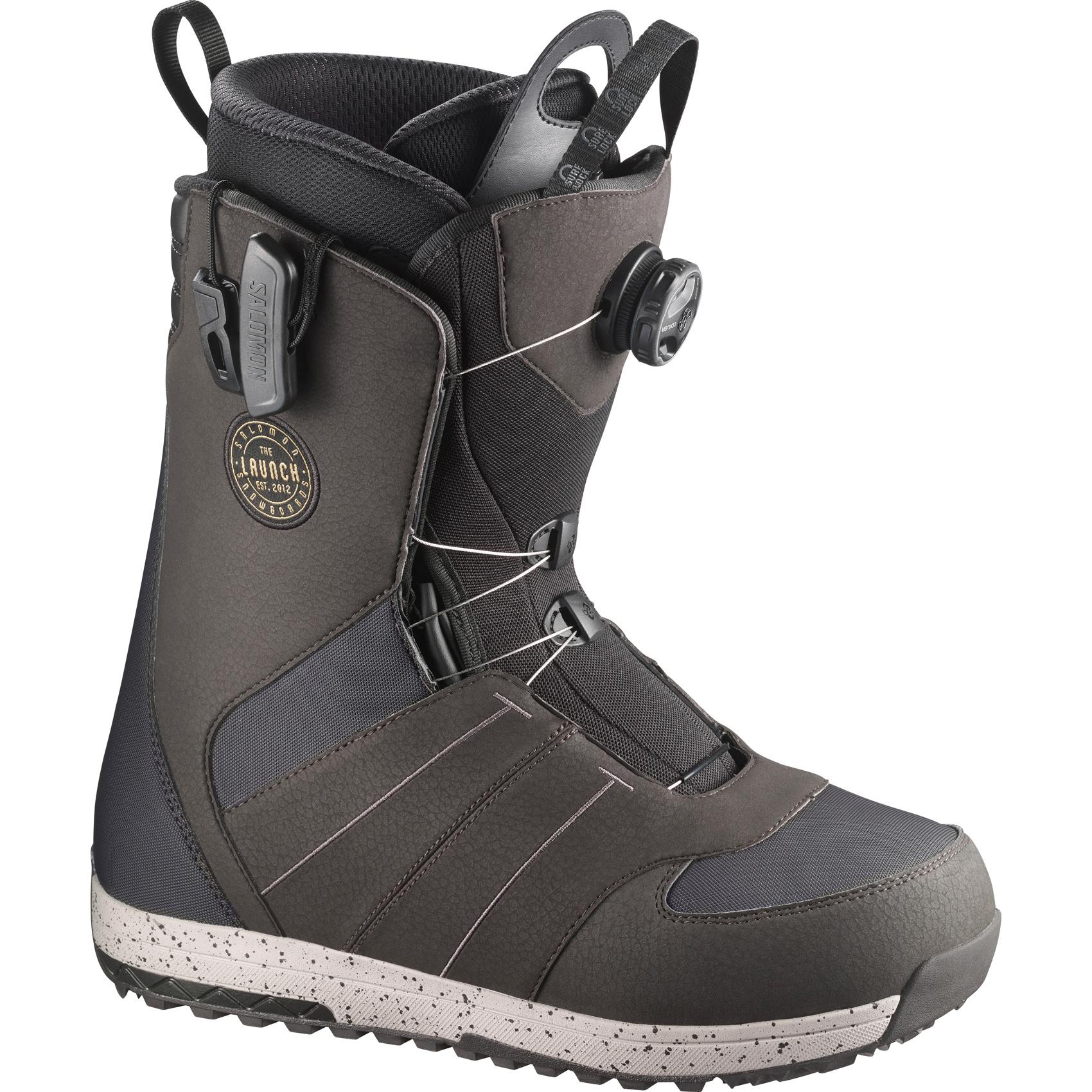 Salomon Launch BOA STR8JKT Mens Snowboard Boots UK 10.5 review