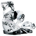 Salomon Mirage Palm Tree Womens Snowboard Bindings 2018