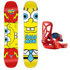 Salomon Team SpongeBob SquarePants Kids Snowboard Pack Thumbnail 1