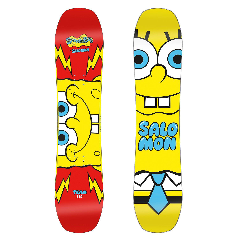 Salomon Team SpongeBob SquarePants Snowboard 110cm review