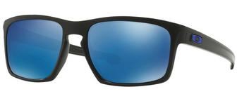 Oakley Sliver Sunglasses Matte Black Ice Iridium